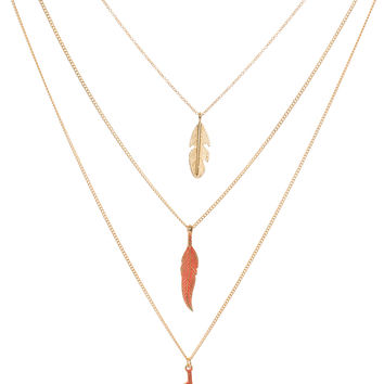Colors Of The Wind Necklace Set