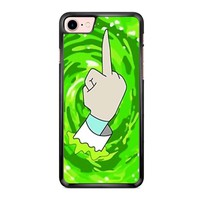 Rick And Morty Peace iPhone 7 Case