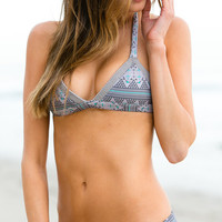 The Girl and The Water - Tori Praver 2014 - Kalani Bikini Bottom / Electric Peacock - $92