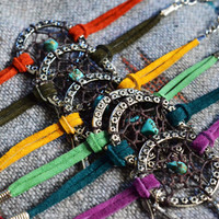 Dreamcatcher Bracelets NEW Suede Colors /Best Friends Package/Choose Two Any Color