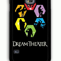 Samsung Galaxy S5 Case - Rubber (TPU) Cover with Dream Theater Rubber Case Design