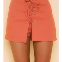 Avalon Skort - Blood Orange - SHOP NEW