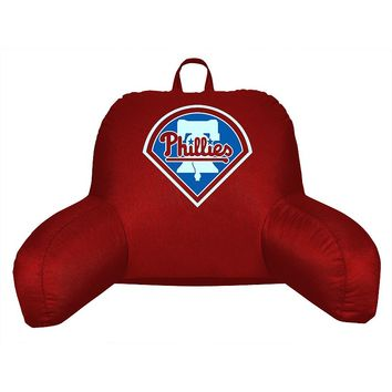 Philadelphia Phillies Sideline Backrest Pillow (Red)