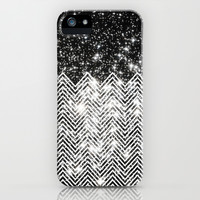 Chevron Universe iPhone & iPod Case by Paula Belle Flores