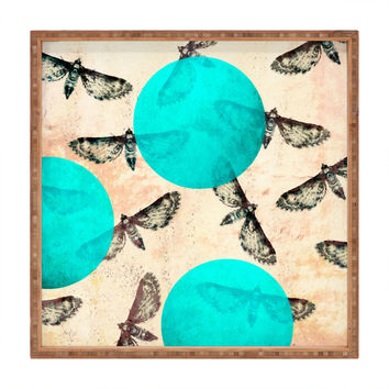 Elisabeth Fredriksson Moths Square Tray