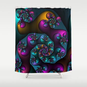 direction Shower Curtain by Christy Leigh | Society6