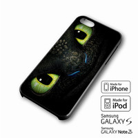 Toothless Eyes Design iPhone 4 5 6 6+ Samsung Galaxy S3 4 5 iPod Touch 4 5 HTC One M7 8 Case