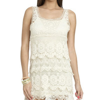Crochet Lined Shift Dress | Shop Dresses at Wet Seal