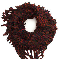 Happy Together Infinity Scarf - Rust