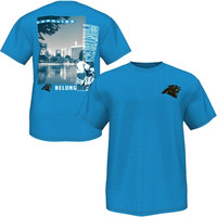 Carolina Panthers Majestic Back Duo III T-Shirt – Blue