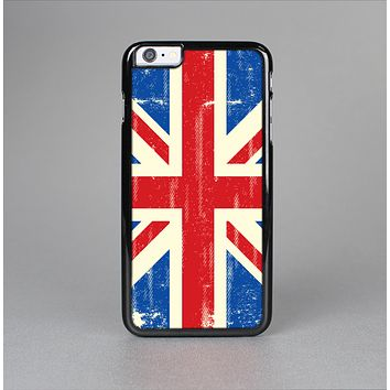The Grunge Vintage Textured London England Flag Skin-Sert for the Apple iPhone 6 Plus Skin-Sert Case