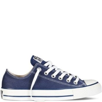 Converse Chuck Taylor All Star Lo Top Navy Canvas Shoes  men's 11