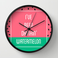 Beyonce Said It Best Wall Clock by Pencil Me In ™