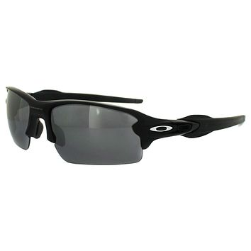 Oakley Sunglasses Flak 2.0 OO9295-01 Matt Black Black Iridium