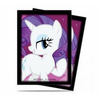 Ultra Pro My Little Pony Rarity Small Size Deck Protector 60-Count Pack