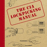 CIA - Lock-Picking Manual Hard Cover