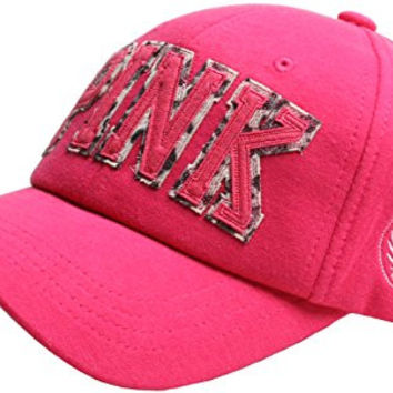Raon B52 Women Girl Color Cute Style Cotton Leopard Pink Mark Ball Cap Baseball Hat Truckers (HotPink)