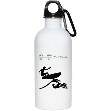 DCCKJY1 Schrodinger Catch a Wave 20 oz. Stainless Steel Water Bottle