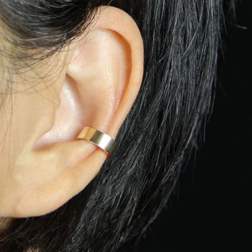 5.99-9.99 dollars Simple 14k gold filled bar ear cuff handmade US free shipping Anni Designs