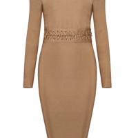 Shella Khaki Dress