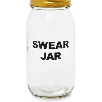 Swear Words Mason Jar Banks