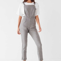 LOST INK Pleated Wool Overall | Urban Outfitters