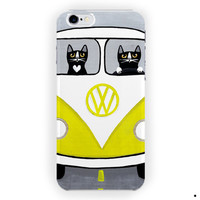 Vw Cat Driver Funny Design Cute For iPhone 6 / 6 Plus Case
