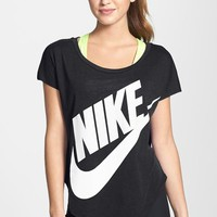 Women's Nike 'Signal' Short Sleeve Logo