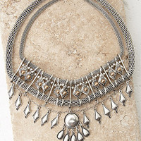 Geo Mesh Chain Necklace