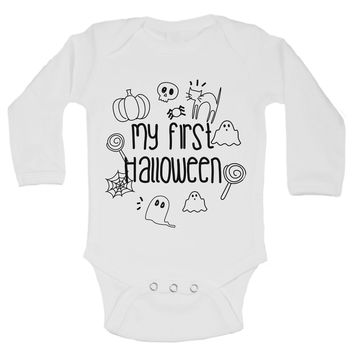 My First Halloween Funny Kids Onesuit