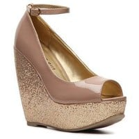 Madden Girl Coupe Wedge Pump
