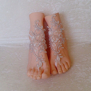 barefoot sandles wedding prom party steampunk bangle beach anklets bangles bridal bride bridesmaid = 1929729860