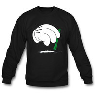 cocaine hands sweatshirt