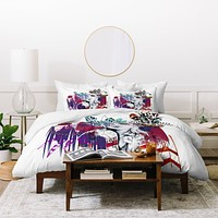 Holly Sharpe Tribal Girl 1 Duvet Cover