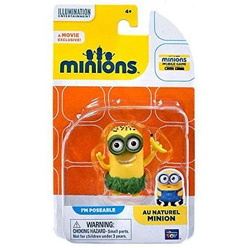 The Minions Poseable Figure [Au Naturel Minion]