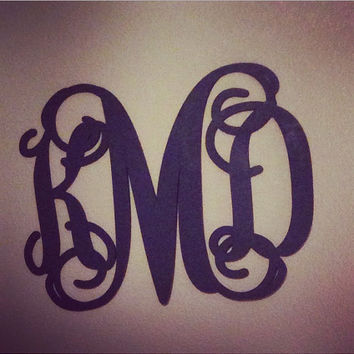 Wooden Letters, PAINTED Monogram,All Sizes, Home Decor, Wooden Monogram,Script Monogram,Wedding Decor