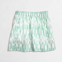 Factory printed pocket skirt - Mini/A-Line - FactoryWomen's Skirts - J.Crew Factory