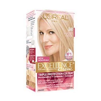Buy L'Oreal Paris Excellence Creme Pro-Keratin Soft Light Natural Blonde BB Online in Canada | Free Shipping