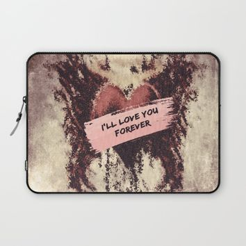 Enigma Laptop Sleeve by Jessica Ivy