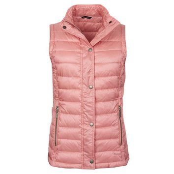 Alasdiar Quilted Gilet in Vintage Rose by Barbour - FINAL SALE
