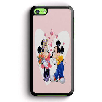 Mickey Mouse And Minnie Mouse iPhone 5C Case | Aneend