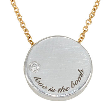 Love Is The Bomb Diamond LUXE Necklace