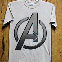 AVENGER LOGO T-Shirt - Superheroes T-Shirt - Marvel Comics Design for Men T-Shirt (Various All Color Available)