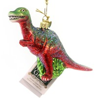 Noble Gems Dinosaur Ornament Glass Ornament
