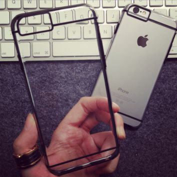 So Cool Simple Black Line Iphone 7 7plus & 6 6s Plus & 5 5s Se Best Gifts