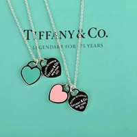 Tiffany & Co. Classic double enamel necklace
