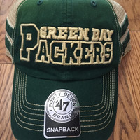 Green Bay Packers Huron 47 Clean Up Hat