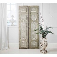 Stately Screens (Pair) | Room Divider