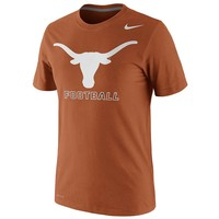 Nike Texas Longhorns Football Practice Legend Dri-FIT Performance Tee