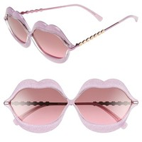 Wildfox 'Lip Service' 65mm Sunglasses | Nordstrom